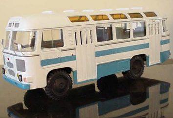 PAZ-672 – un autobús en todo el país