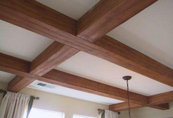 vigas de techo en el diseño de interiores