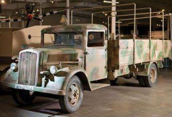 "German Truck ""Opel Blitz"": historia i charakterystyka"