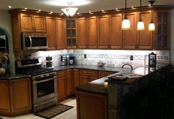 la cocina de Brown: ideas de diseño