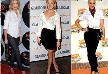 De quoi porter une chemise blanche? Photos recommandations
