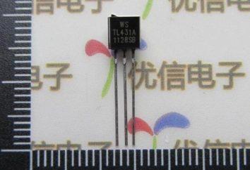 Chip TL431 datasheet: Opis, oznaczenie, specyfikacje