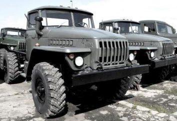 """Samochodów """"Ural-5557"""": opis, charakterystyka"""