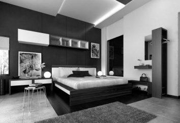 La couleur des murs de la chambre. Atmosphère confortable pour la détente