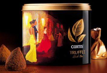 """Tea """"Curtis"""": uma variedade de classes"""