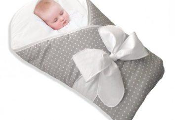 Tipps für junge Eltern: Wie das Baby in eine Decke wickeln