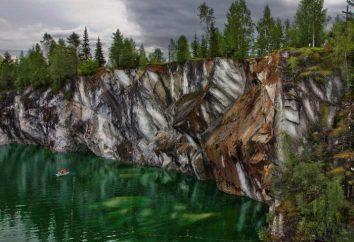 Jezioro Marmara w Karelii. Opis i historia. Inne rosyjskie marmurowe jeziora