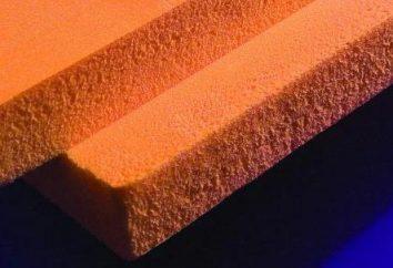 polystyrène extrudé « Technonikol »: spécifications techniques, de l'épaisseur, la densité