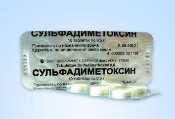 """Medicine """"Sulfadimetoksin"""": Indikationen für die Verwendung"""