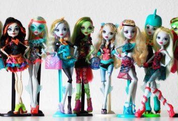 """Straszne i piękne lalki """"Monster High"""""""