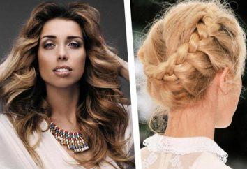 Pauline Repik: coiffures pour cheveux longs