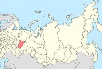 Territorio de Perm minerales: ubicación, descripción y una lista de