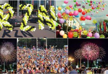Wydarzenia w Riazaniu w Dniu Miasta. Riazań: Miasto Day-2015
