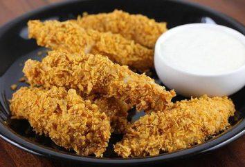 Come cucinare stripsy come KFC? Ricetta e foto