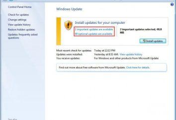 Wichtiges Update verfügbar: wie zu deaktivieren? Ist es ein Virus oder nicht?