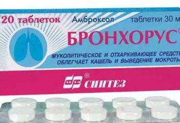 """""""Bronhorus"""" (compresse): istruzioni per l'uso, controparti reali, il riassunto del prodotto"""
