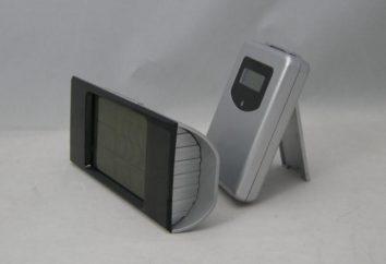 Início estação meteorológica com sensor sem fio. estação meteorológica Digital: como escolher