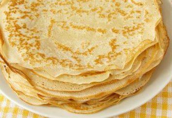 Comment faire cuire des crêpes avec du lait et de l'eau chaude: une recette et quelques conseils utiles