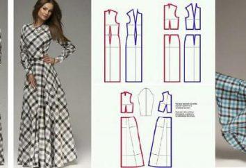 Verstauen Sie auf das Kleid. Kleid-Muster für Anfänger. Arten von Pfeilen auf einem Kleid