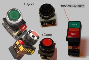 Schéma de câblage du démarreur magnétique par une position de contact sur les deux boutons « Start » et « Stop ». instruction