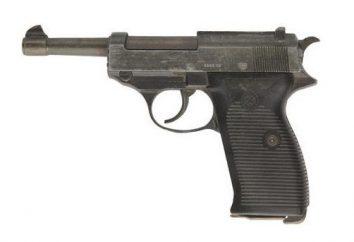 """Walter"" – pneumatyczny pistolet. Pistolet ""Walther P-38"""