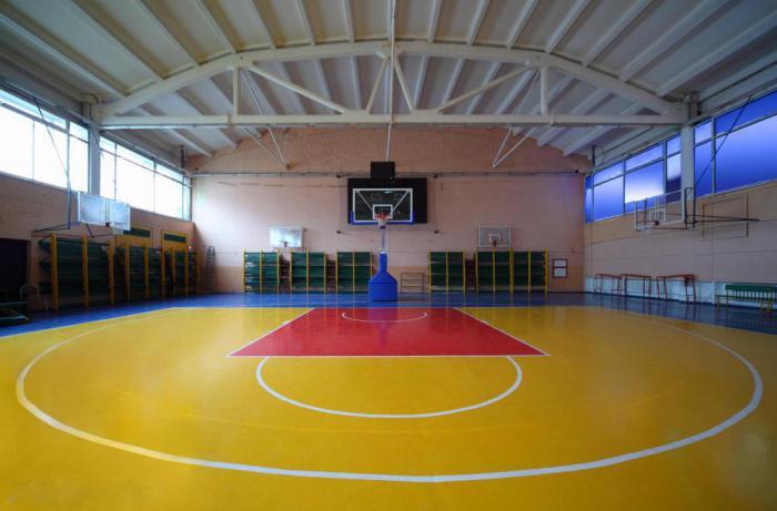 les dimensions du terrain de basket ball terrain de basket mise en page photo. Black Bedroom Furniture Sets. Home Design Ideas