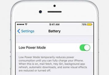 Como ativar o modo de economia de energia do Iphone