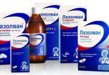 """Per quello che la tosse accettare """"Lasolvan"""": indicazioni per l'uso di analoghi"""