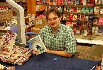 écrivain américain Brandon Sanderson: biographie, créativité et commentaires