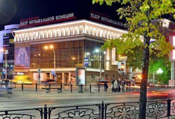 Jekaterynburg Musical Comedy Theatre: repertuar, historia, firma