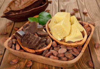 Masło kakaowe substytutem: właściwości, rodzaje, korzyści i szkody