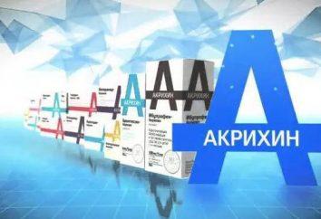 """""""Akrihin"""": instrukcje użycia, opis preparatu, skład i recenzje"""