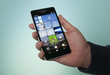 Lumia 950: description, caractéristiques