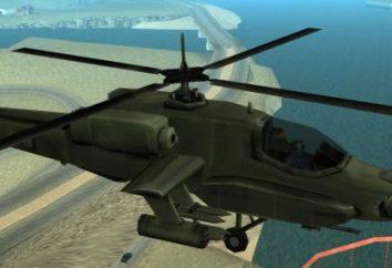 "Códigos em ""GTA: San Andreas"" no helicóptero e tudo o que está conectado com vôos"