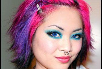 lápices de colores pastel: cómo teñir el cabello?
