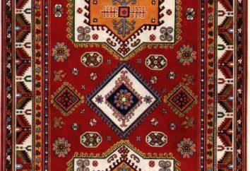 Tabasaranskiy handgemachte Teppich: Foto