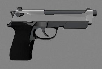 Pistolet Beretta: zalety i wady