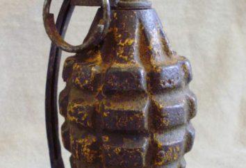 granadas de mão. granadas de fragmentação mão. granada de mão RGD-5. granada de mão F-1