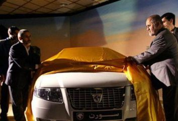 """Samand"" (máquina). Samand: coches iraníes"