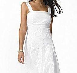 De ocio o de trabajo: los vestidos de sol de color blanco para todas las ocasiones