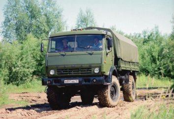KAMAZ-board – eine große Maschine für schwere Lasten