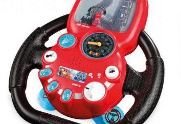 Autotrain de niños – volante – un simulador de conducción realista