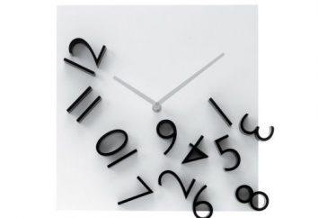 Kierunku ruchu wskazówek zegara jako główne kryterium wyboru