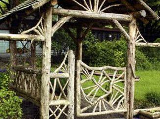 Pérgolas de madeira – construção