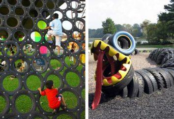Articoli di pneumatici per auto – decorazione del giardino