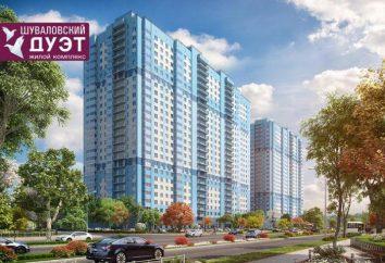 Complexe résidentiel « duo Chouvalov » Saint-Pétersbourg: description, planification, développeur et commentaires