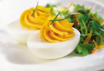 Calories des œufs durs. Vérité et fiction