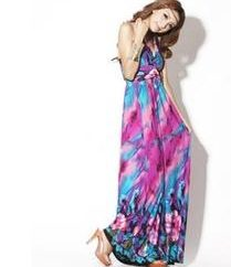 Robe d'été au sol – une garde-robe d'été élément à la mode