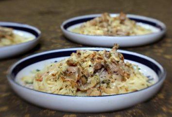 La viande aux champignons dans une sauce à la crème: une recette. La viande aux champignons dans une sauce à la crème dans le four, en multivarka en pot