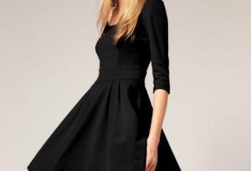 Robe de mode évasé: vue d'ensemble, les modèles, les caractéristiques et commentaires
